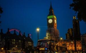 Vista en el Big Ben Londres