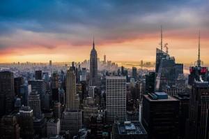 Panorámica desde el Top of the Rock en Nueva York